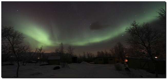Northern Light in Abisko, Sweden