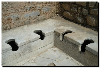 Toilets of Ephesus